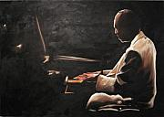 Serenity A Tribute To Mccoy Tyner Print by Ronald Young