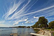 Matt Molloy Prints - Serious Cirrus Business Print by Matt Molloy