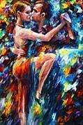 Serious Tango Print by Leonid Afremov