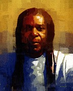 African-american Paintings - Seriously Now... by RC DeWinter