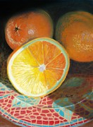 Donna Shortt Painting Metal Prints - Serving Sunshine Metal Print by Donna Shortt