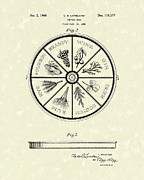 Fancy Drawings - Serving Tray 1940 Patent Art by Prior Art Design