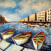 Provence Paintings - Sete by K McCoy
