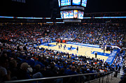 Hall Photo Posters - Seton Hall Pirates Prudential Center Poster by Replay Photos