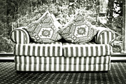 Settee Prints - Settee Print by Tom Gowanlock