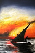 Muwumba - Setting Sail at Sunset