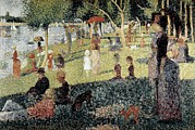 Grande Jatte Posters - Seurat, Georges 1859-1891. An Afternoon Poster by Everett