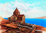 Armenian Paintings - Sevan by Toros Zaroukian