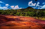 Jenny Rainbow - Seven Colored Earth in Chamarel 2. Mauritius
