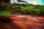 Jenny Rainbow - Seven Colored Earth in Chamarel 3. Mauritius