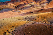 Mauritius Photos - Seven Colored Earth in Chamarel 6. Series Earth Bodyscapes. Mauritius by Jenny Rainbow