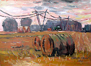 Bales Painting Originals - Seven Forty Seven by Charlie Spear