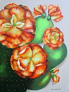 Carol Sabo - Seven Lucky Prickly Pear...