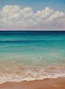 Grand Paintings - Seven Mile Beach by Eve  Wheeler