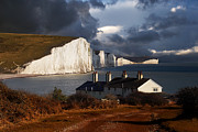 Chalk Cliffs Art - Seven Sisters by Kris Dutson