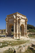 Leptis Magna Framed Prints - Severan Arch Framed Print by Premierlight Images