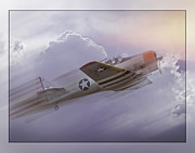 Seversky At-12 Guardsman Print by Steve Benefiel