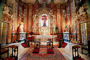 Seville Cathedral Interior In Spain Print by Artur Bogacki