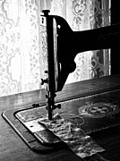 Sewing Machine Framed Prints - Sew My Wounds  Framed Print by Jerry Cordeiro