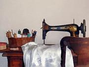 Sewing Room Print by Susan Savad