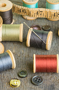Bobbin Photos - Sewing Thread by John Trax