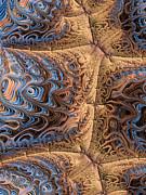 Sewn  Print by Heidi Smith