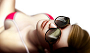 Adult Art - Sexy woman in sunglasses by Photocreo Michal Bednarek