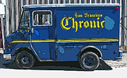 Sheats Framed Prints - SF Chronic Truck for Sale Framed Print by Samuel Sheats
