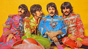 John Lennon Digital Art Originals - Sgt. Peppers Lonely Hearts Club Band by Stephen Shub