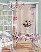 Verandah Paintings - Shabby Chic Verandah by Gail McCormack