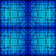 Blue Digital Art - Shades 9 by Mike McGlothlen