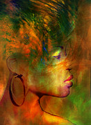 Portrait Of Woman Digital Art - Shades of a Woman by Paul St George
