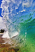 Surf Art Prints - Shades of Lani Print by Paul Topp