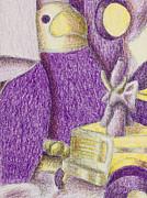 Jeanette K - Shades of Purple Still Life