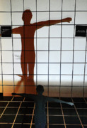 Photo Grids Prints - Shadow Dancer II Print by Elizabeth Hoskinson