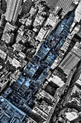 Midtown West Prints - Shadow of the Empire II Print by Marco Oliveira