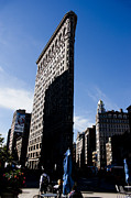 Daniel Photo Posters - Shadowed Flatiron Poster by David Bearden