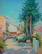 Spanish Pastels - Shadows and light by Heather Harman