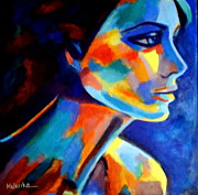 Vibrant Colors Originals - Shadows and silence by Helena Wierzbicki