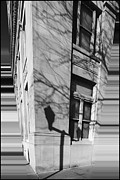 Lightposts Prints - Shadows In The City Print by Dan Sproul