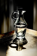 Bottled Prints - Shadows of the bottle Print by Danuta Bennett