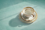 Teacup Photo Acrylic Prints - Shadows of the Past Acrylic Print by Kay Pickens