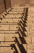 Linda Russell - Shadows on stairs