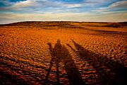 Shadows On The Sahara Print by Mark E Tisdale
