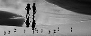 Shadows Photos - Shadows Walking by Constance Fein Harding
