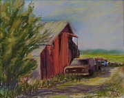 Chevy Pastels Prints - Shadows Print by Will Germino