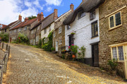 Old Houses Metal Prints - Shaftesbury - England Metal Print by Joana Kruse
