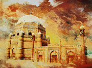 National Park Paintings - Shah Rukh e Alam by Catf