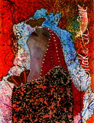 Mixed Media Mixed Media - Shake It Out by Nancy TeWinkel Lauren