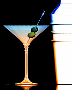 Bar Decor Framed Prints - Shaken Not Stirred Framed Print by Bob Orsillo